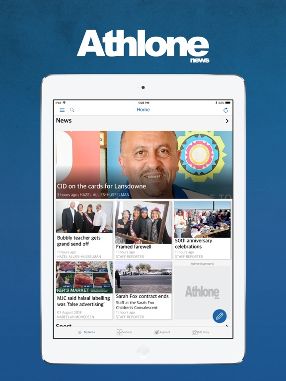 Image of Athlone News for iPad