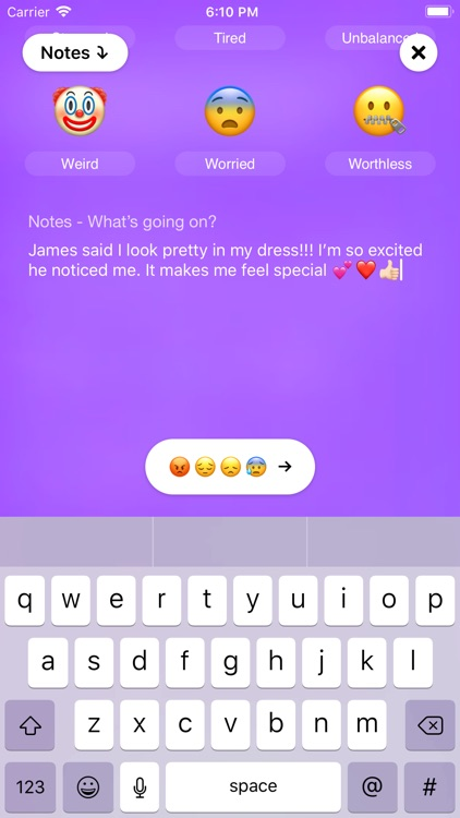 Mood App - Journal