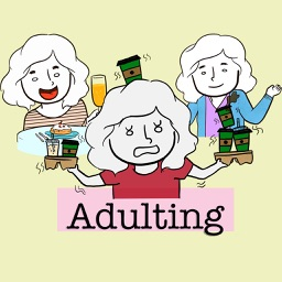 Girls Adulting Stickers