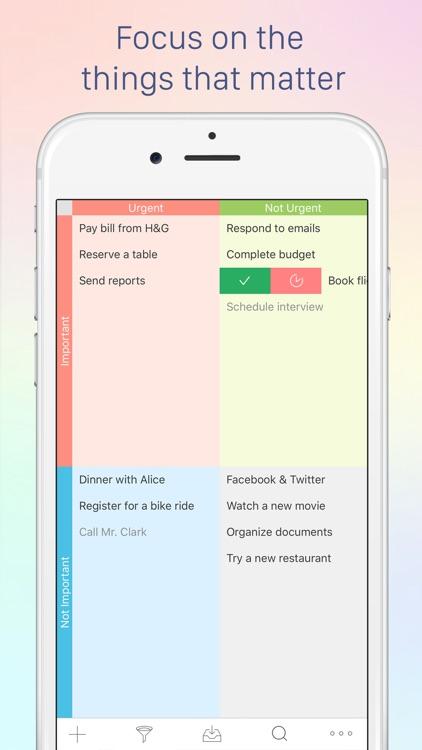 Focus Matrix – Task Manager screenshot-0