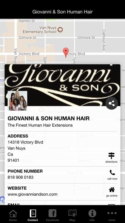 Giovanni & Son Human Hair screenshot-4