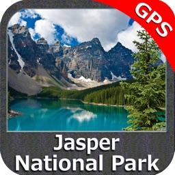 Jasper National Park GPS charts Navigator
