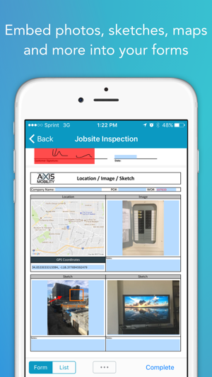 GoFormz Mobile Forms & Reports on the App Store on organization order, internet order, iphone app order, ios 8 app order,