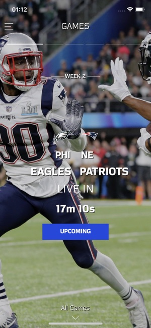 f86ca297382 NFL Game Pass Europe on the App Store