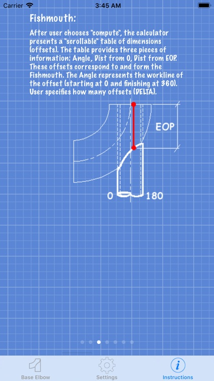 Piping Base Elbow Layout Calc screenshot-5