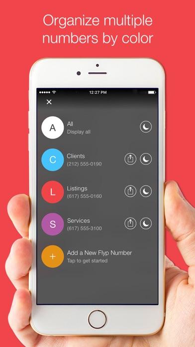 Flyp: Multiple Phone Numbers app image