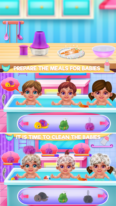 Crazy Mommy Triplets Care Screenshot