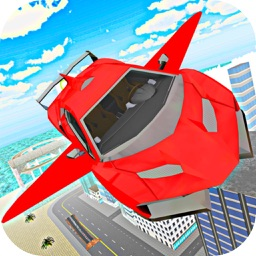Flying Car City Stunts
