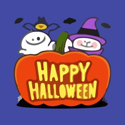Halloween Boo Emojis Sticker