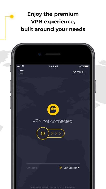 CyberGhost VPN & WiFi Proxy