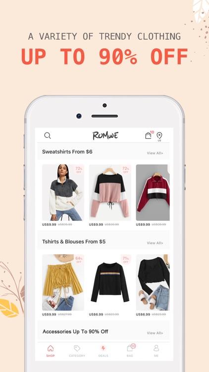 ROMWE - Women's Fashion screenshot-3