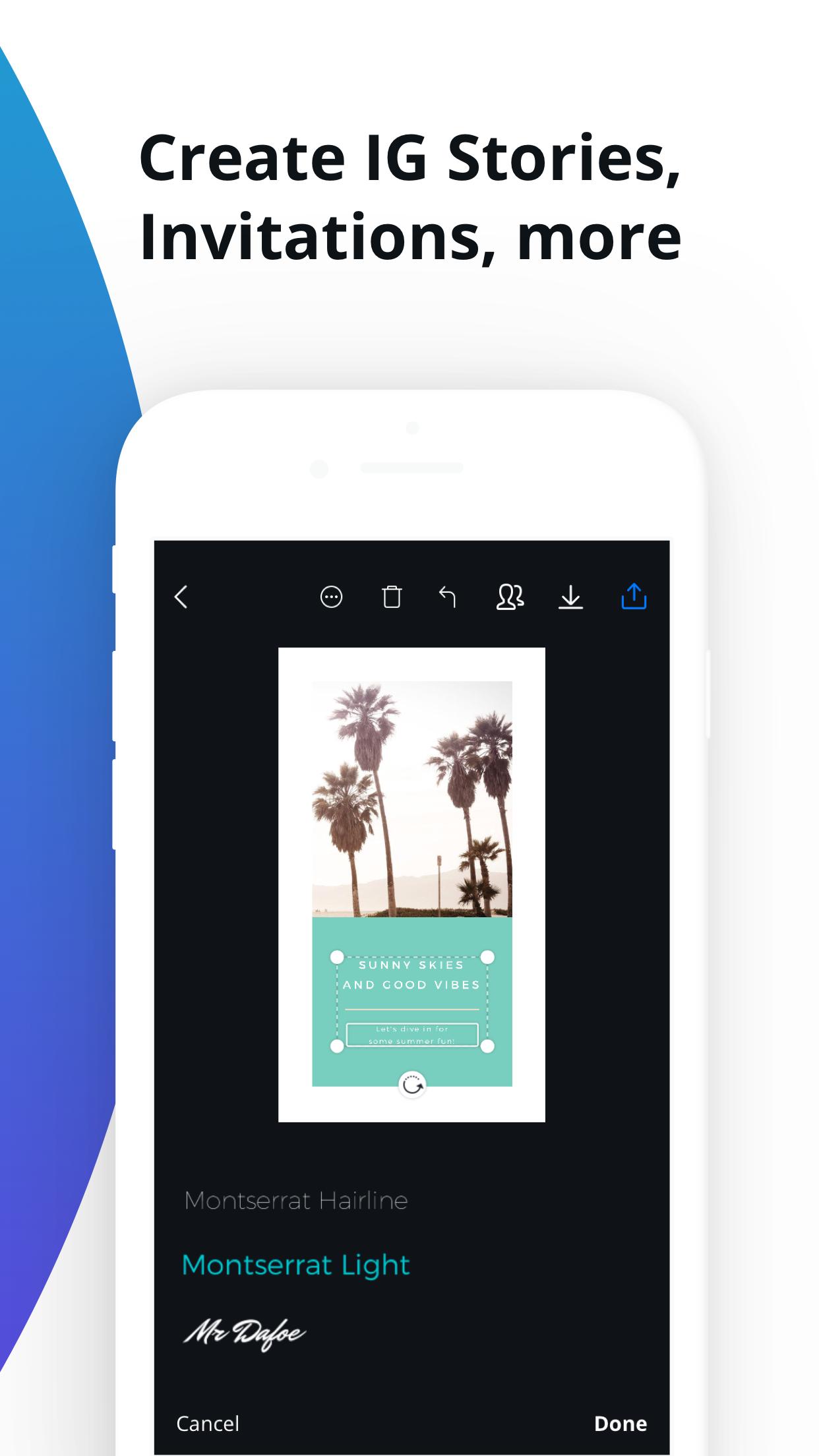 Canva - Graphic Design Creator Screenshot