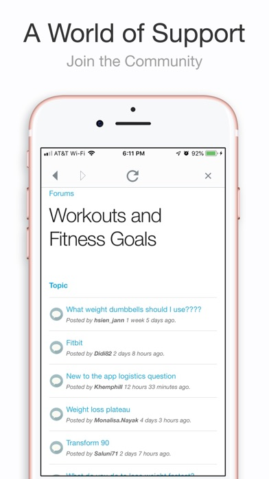 My Fitness by Jillian Michaels app image