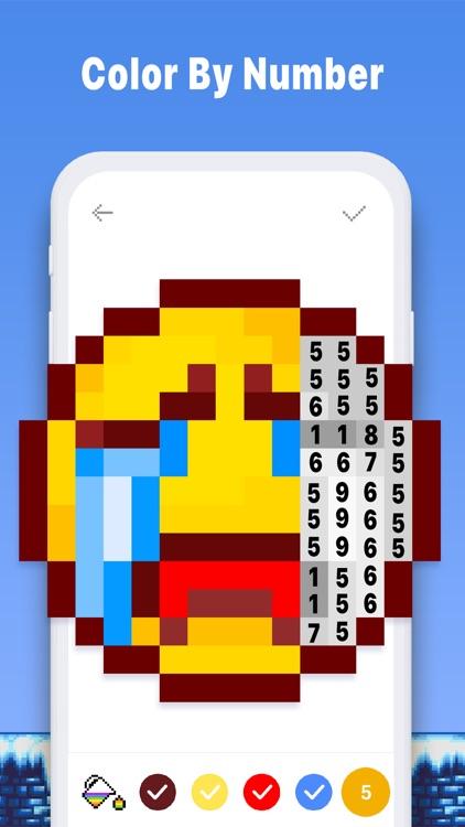 Pixel Art Book - Coloring Game screenshot-4