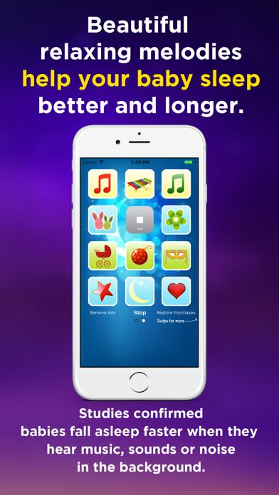 Music Box Baby Mobile screenshot one