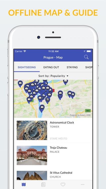 Prague Offline Map & Guide screenshot-0