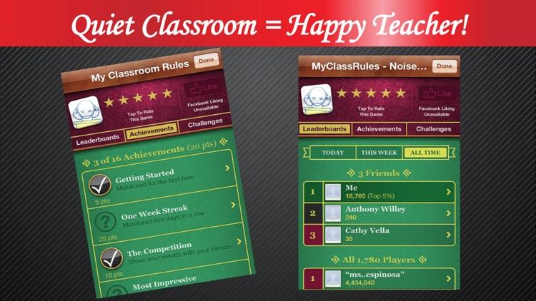 Noise Monitor - My Class Rules screenshot-4