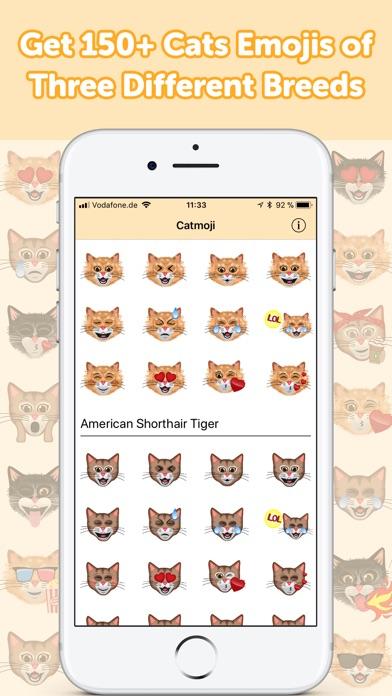 CatMoji - Cat Emoji Stickers screenshot 2