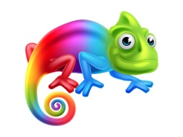 Chameleon Color Stickers