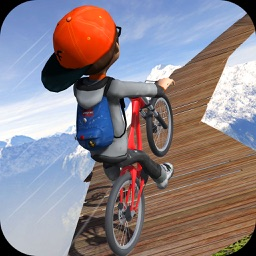 Impossible Bicycle Stunt race