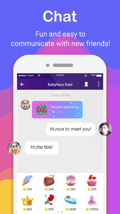 Live.me – Live Video Chat & Make Friends Nearby screenshot-4