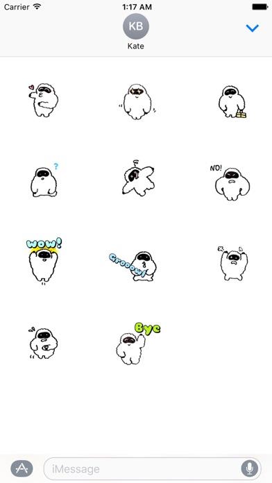 Yetimoji - Yeti Emoji Sticker screenshot 3