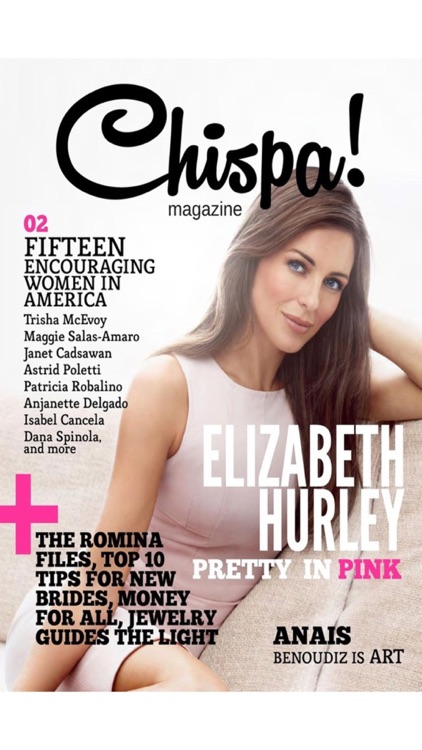 Chispa Magazine for women