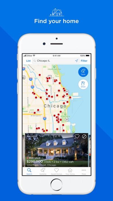 Zillow Real Estate & Rentals app image