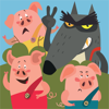 Three Little Pigs vs The Wolf