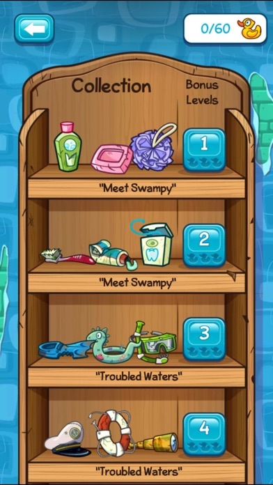 Screenshot for Where's My Water? in Portugal App Store