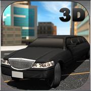 轿车车司机模拟器3D - 驾驶豪华轿车和采取VIP客人的城市之旅