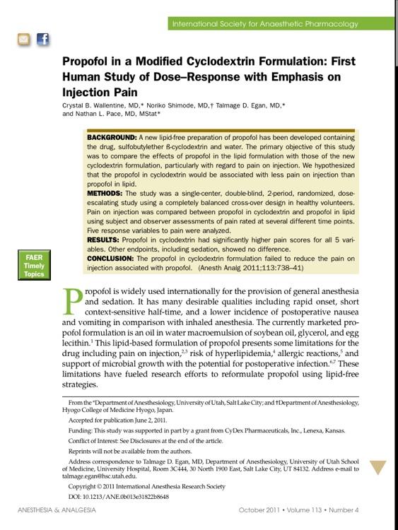Anesthesia & Analgesia® screenshot-3