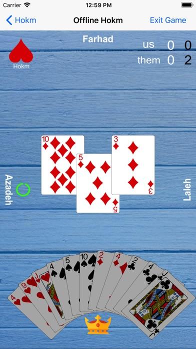 Hokm: Multiplayer Card Game for Windows