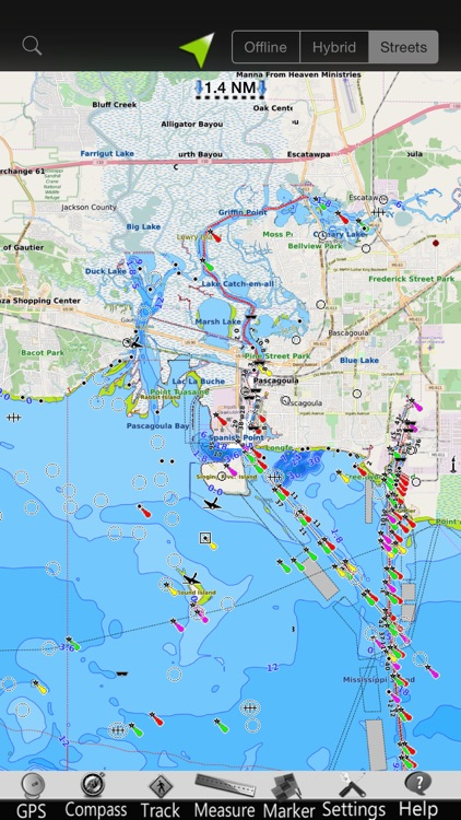 Alabama GPS Nautical Charts screenshot-3