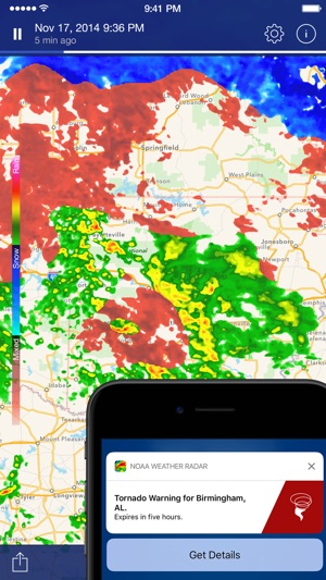 Noaa weather radar forecast on the app store sciox Image collections