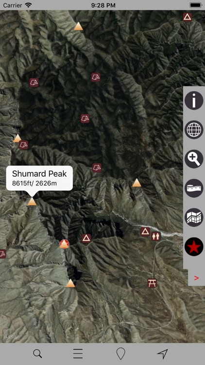 Guadalupe Mountains N Park GPS screenshot-2