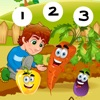 123 Count-ing & Learn-ing Number-s First Class: My little Garden: Free Education-al Game-s for Kid-s and Babies