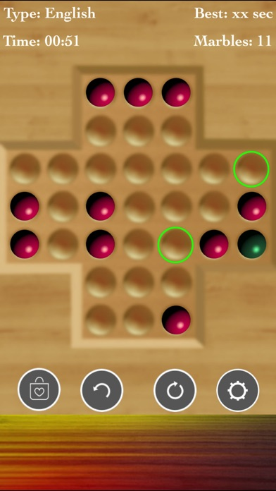!Brainvita Peg Solitaire screenshot 2