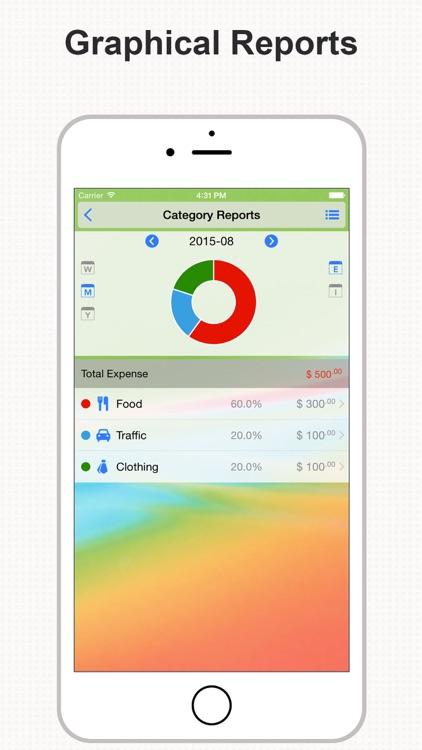 DayCost Pro - Personal Finance screenshot-3