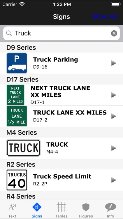 MUTCD app screenshot-3