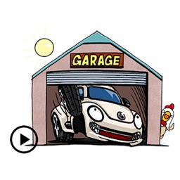 Animated Car CarMoji Sticker