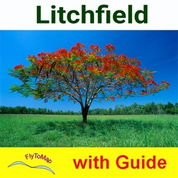 Litchfield NP - GPS and outdoor map with guide