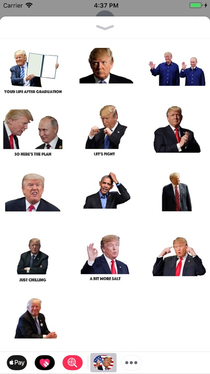 Trump Stickers.