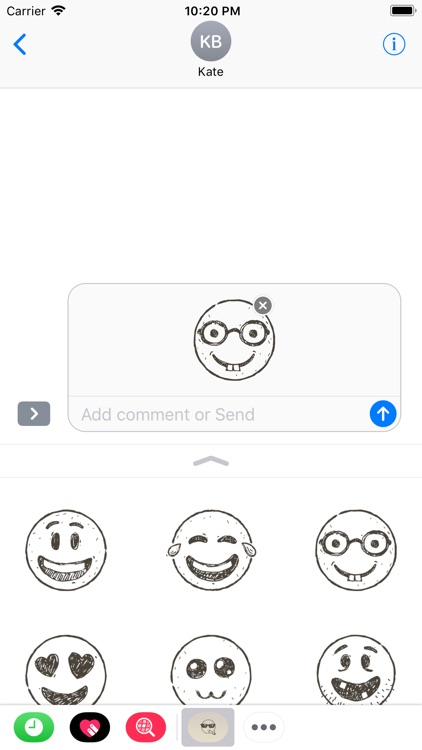 Hand Draw Emojis screenshot-3