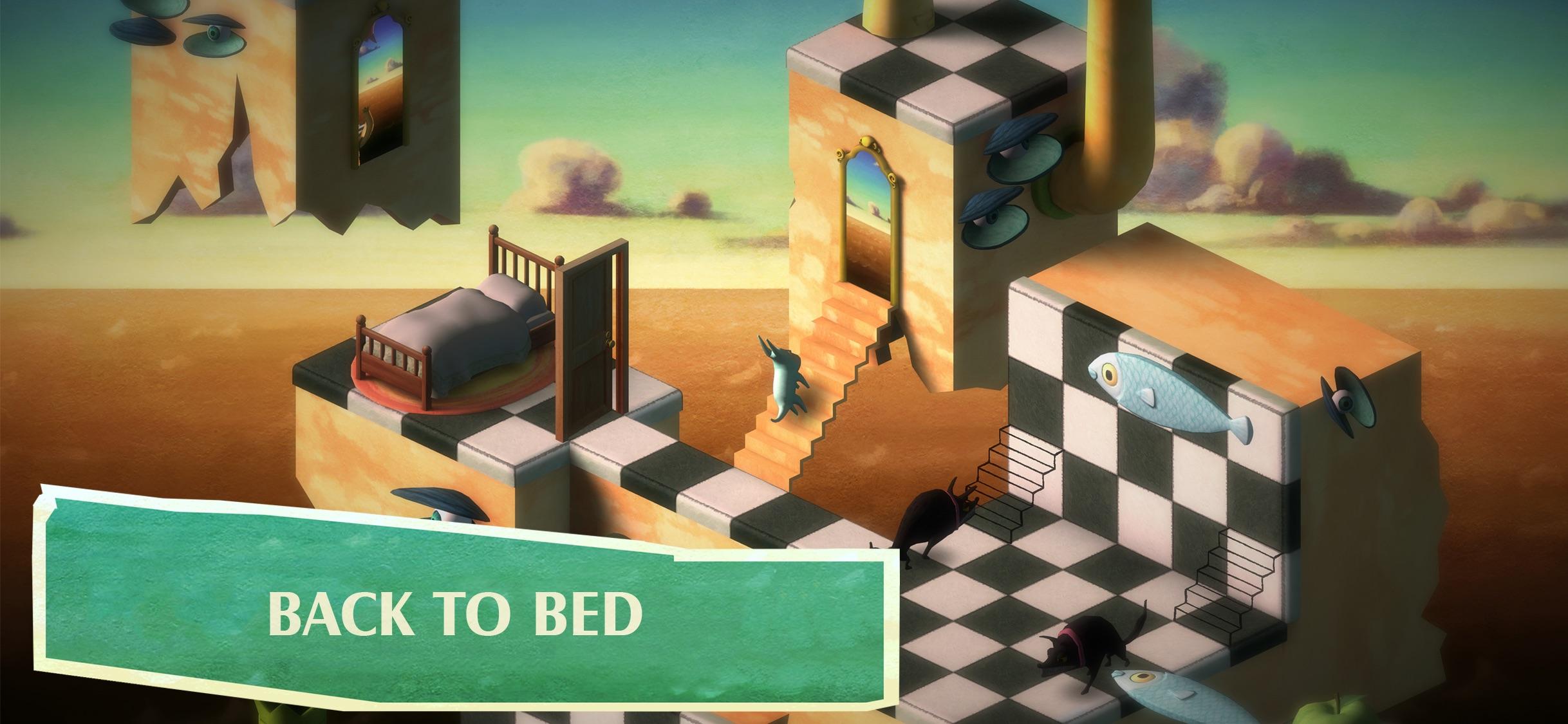 Screenshot do app Back to Bed