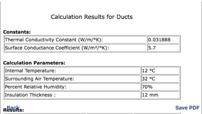 Duct Thickness Calculation