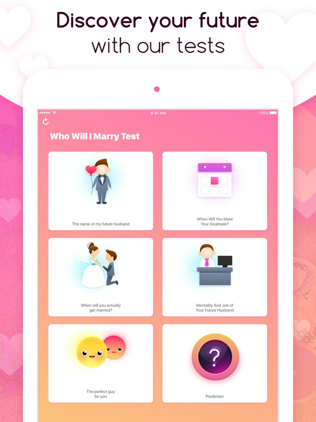 Who Will I Marry Test on the App Store