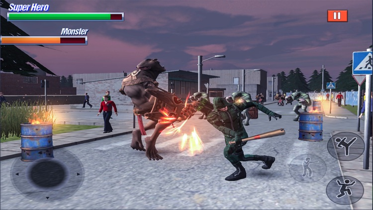 Super Hero Fight in City screenshot-5