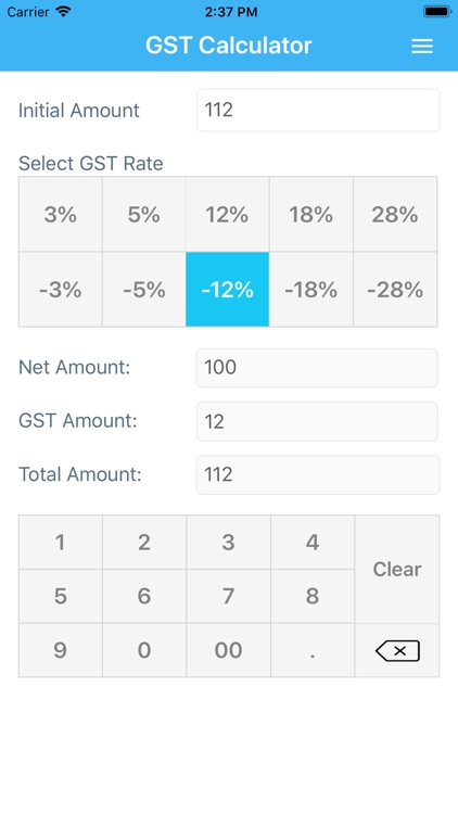 GST Calculator + screenshot-3