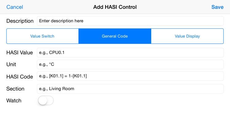 HASI Remote